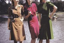 Mid-Century Fashion 1940-1970 / by No Pattern Required
