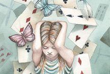 Alice in W:Art/Dominic Murphy / Alice in wonderland (illustrator)