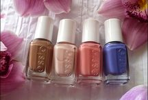 Interesting shades of nail polishes / Interesting shades of nail polishes