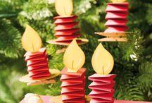 свечи на елку