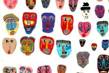 Polymer Clay Faces / polymer clay art