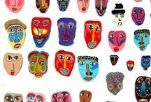 Polymer Clay Faces / polymer clay art / by Labedzki-Art