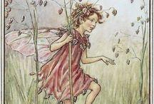 Bloemen feeën