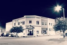 Small Town after dark / Some Black and White ideas / by Tony Luna
