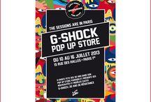 Casio / Le Pop up store de Casio s'est invité pour ses 30 ans, du 10 au 16 juillet 2013, à la Cremerie de Paris dans le 1er arrondissement.