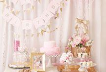 Meera's First Birthday