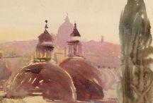 Louis Kahn - Desenho / Drawing / Estónia - 1901 / 1974