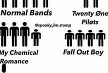 Bands and stuff
