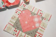 Patchsmith's 2015 Block-a-Day (BAD) / I shall be making one block, every day, throughout 2015 in an attempt to use up some of my fabric scraps.  The blocks will be patched, appliqued and paper-pieced with a little bit of hand stitching here-and-there.