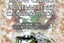 Camo Rings and Wedding bands / CamoRing.com designs and creates camouflage coated wedding rings and bands.  You can choose from our ring styles or send us your own rings for our special camo coating service.  www.CamoRing.com for more info!