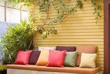 Bahçe mobilya / Tasarım