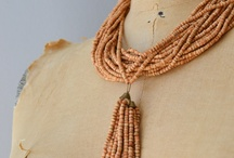 Necklace / Wooden necklace