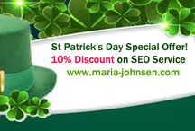 ST Patrick's Day SEO Discount / We offer discount seo offer. This offer expires on St. Patrick's day