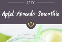 Apfel Avocado Smoothie