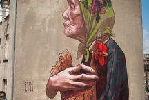 Graffitis / Diferentes graffitis del mundo