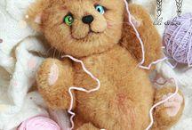 LiLi&boo, авторские игрушки Лидии Комаровой
