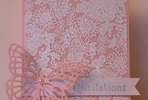 Something Lacy - SU / I have ordered this background stamp, and can't wait for it to arrive!!