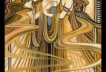 Art Deco Collection / Collection of Art Deco prints and paintings