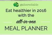 {Meal Planning & Prep} Save TIME and MONEY with this Healthy Living Routine / Meal planning and prep can save you time and money each week. Here is some inspiration to get you started.
