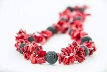 Beaded Necklaces - DevikaBox / Chunky beaded necklaces, original OOAK projects / by DevikaBox