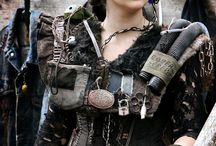 Post apocalyptic cosplay