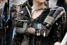 Post apocalyptic cosplay