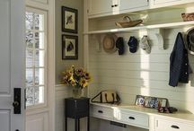 Foyer's and Mud Rooms / Inspirational ideas on mud rooms and foyer's for your home!
