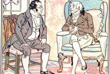 Jane Austen genre illustrated