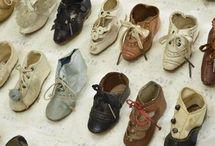 Обувь для антикварных кукол