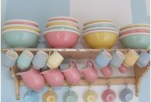 Pretty Pottery in Pastels