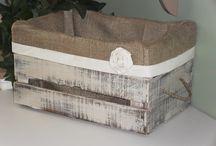 caja con interior de alpillera
