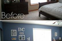 master bedroom remodeling/decor on a budget