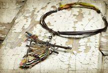 Beads & Jewelry / Things I love using beads, metal and fiber!