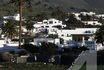 Haría / Imágenes del pueblo de Haría situado al norte de Lanzarote en las Islas Canarias