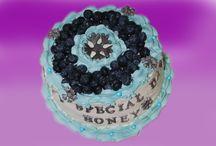 Konfekt, dessert og andre kaker / Dessert kaker, krem kaker, firmakaker m.m