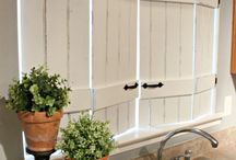 Okiennice wew. / inside shutters