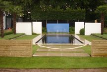 Water in the garden / Pools, ponds, swimming ponds, waterfalls, watercourses, fountains,