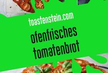 Ofen-Monster // everything from the oven / Hier findet ihr unsere Rezpte für frisches Futter aus dem Ofen! // here you can find our recipes for food fresh from the oven! // www.toastenstein.com