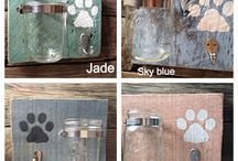 Porta correas de perros