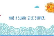 Summer Essentials @ Sunny Side / Όλα τα απαραίτητα #καλοκαιρινά #musthaves στο www.sunnyside.gr