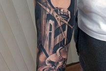 Fodrászos tattoo