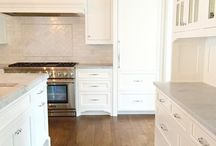 White kitchenette