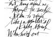 Calligraphy: Brody Neuenschwande