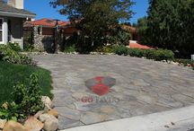 Driveway Pavers Projects – Go Pavers / Paver driveways installed by GoPavers.com in the Southern California area.