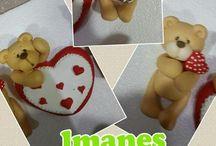 Imanes de ceramica