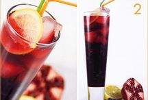 Nice not naughty beverages / Thirsty for refreshing yummy non-alcoholic drinks, coffee, teas and sodas? These fit the bill.