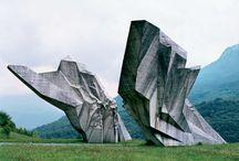 Jugoslávské monumenty