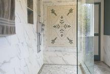 Custom Mosaic Walk in Shower / Kitchen remodel