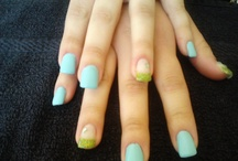Nails done for me * / These are some of my work .  I hope you enjoy ! :)