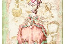 Marie Antoinette / Marie Antoinette, France 1770, Versailles, Rococó, Pastel, Sugar, Dresses, French Revolution, Clothes, Pink, Make-up, Baroque, Art etc...